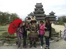 松本城見学