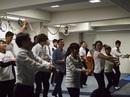 留学生によるダンス披露