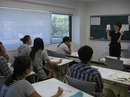 授業の様子(日本語コース)
